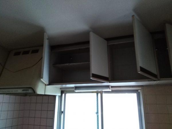 流し台&吊り戸棚の交換
