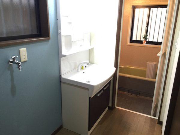 さいたま市戸建 洗面室(アフター)