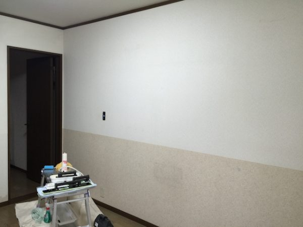 アクセント壁(グリーン)